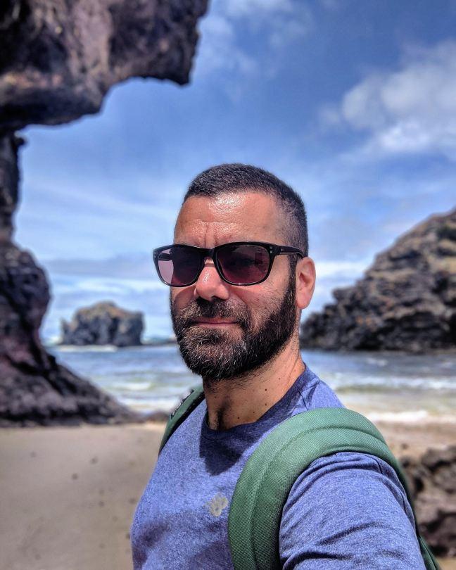Bushrangers Bay selfie